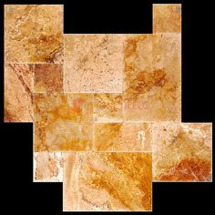 Leonardo Antique Brushed Chiseled French Pattern Travertine Tiles, Great for indoor or outdoor use, and can increase the value of your property. Stone Quarry, French Pattern, Travertine Tile, Tiles, Things To Come, Indoor, Patio, Canning, Antiques