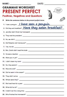 Risultati immagini per present perfect tense printable worksheet English Grammar Tenses, Teaching English Grammar, English Grammar Worksheets, Grammar Lessons, English Phrases, English Vocabulary, Simple English Grammar, Spanish Grammar, Grammar Rules