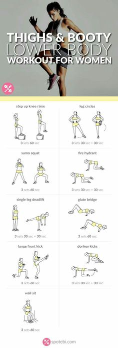 Great workout to tone your lower body and develop sexy curves.
