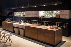 Kitchen spaces: modernity and tradition