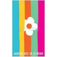 Toalla Playa Martinica Agatha Ruiz de la Prada - Bazartextil.com