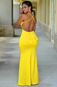 Fumia maxi dress