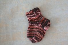 Newborn 0-3 month pink-brown wool baby socks | Etsy Matching Socks, Yarn Sizes, Wool Socks, Baby Socks, Pink Brown, Our Kids, 3 Months, Color Patterns, Etsy
