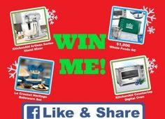 Win $1,000 Whole Foods Gift Card, KitchenAid Products and More