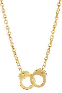 Handcuff Necklace / Monique Leshman