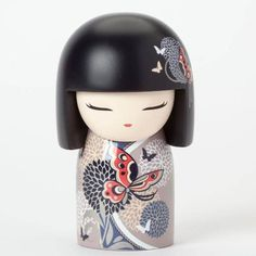 This is a Kimmidoll Ayana Colorful Maxi Japanese Doll Figure. Kimmidoll's are fantastic collectible doll figures that are designed to represent traditional Japa