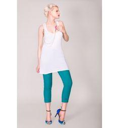 Oyku Dress/Top with glass removable pearls - Arzu Kara