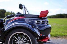 Mal was anderes und nur mit drei Rädern.  Rewaco Trike RF1 GT