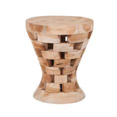 Stolička z teakového dreva Magnar
