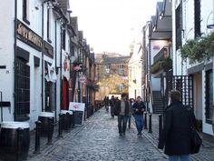 Byres Road in Glasgow, Glasgow City