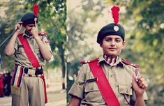 National Cadet Corps (NCC) is the military cadet corps wing of the Indian Armed Forces. Interview Preparation, Test Preparation, National Cadet Corps, Best Army, Indian Army, Neck Scarves, Photography Poses, Coaching, Portrait
