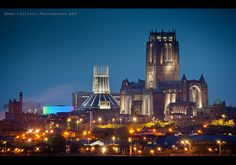2 cathedrals....Liverpool