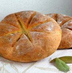 Libum - sacrificial bread used in ancient Rome -- Great Roman recipes from Croation blog.