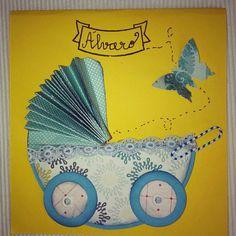 Tutorial tarjeta bebé para regalar dinero/ticket regalo