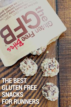 Healthy Gluten Free Snacks That Are Actually Perfect For Runners - The Fit Foodie Mama