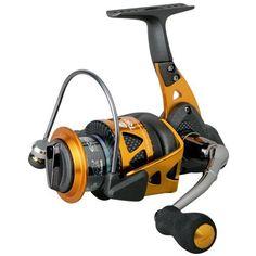 Okuma Trio High Speed Spinning Reel, Blk/Orange, Trio-40S : Spinning Fishing Reels : Sports & Outdoors