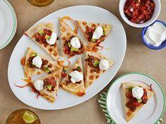 Waffled Chorizo-Cheese Quesadilla Recipe : Food Network Kitchens : Food Network - FoodNetwork.com