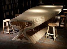 CNC organic plywood