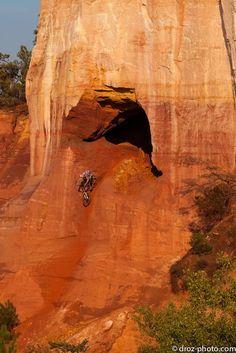 90 degrees downhill mountain bike cave ride?