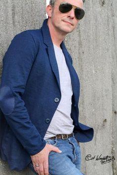 Men's Style, Suit Jacket, Mens Fashion, Blazer, Suits, Jackets, Sporty, Male Style, Moda Masculina