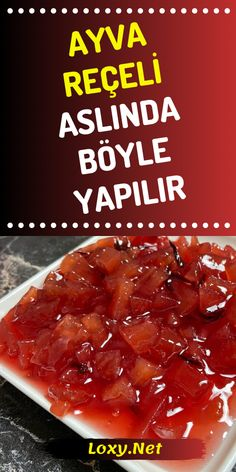 Gerçek Ayva Reçeli Tarifi Reçel Böyle Yapılır – Tavuk tarifleri – Las recetas más prácticas y fáciles Snacks, Snack Recipes, Cooking Recipes, Delicious Desserts, Yummy Food, Food Court, Cupcakes, Homemade Beauty Products, Brunch