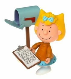Amazon.com : Sally Brown Charlie Brown Christmas Action Figure from Peanuts : Toy Figures : Toys & Games