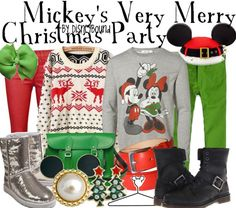 Mickey's Very Merry Christmas Party by DisneyBound