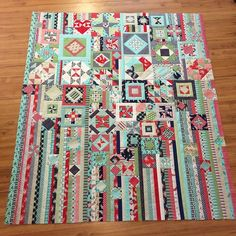 #ShareIG Gypsy wife quilt finished!!!!!! I am teaching it as a 7 month class at quilts etc starting May 20th! Sign ups will be April 10th &11th. Starter kits of daysail fabric will be available for purchase if you want. Come join me ❤️#gypsywifealong