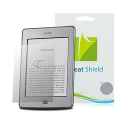 GreatShield Ultra Anti-Glare (Matte) Clear Screen Protector Film for Amazon Kindle (2011), Kindle Touch, Kindle Keyboard, Kindle 2nd Generation (3 Pack)