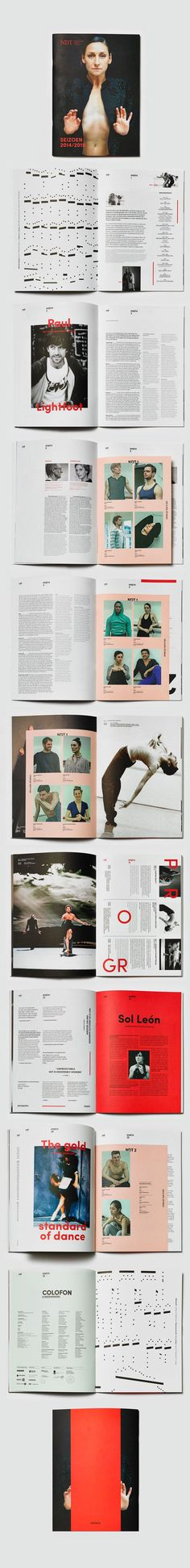Nederlands Dans Theater by Studio Beige   Design / Layouts   Pinterest