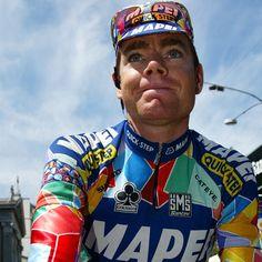 Cadel Evans, who retires from pro cycling today, at the 2002 Giro. (Photo: Yuzuru SUNADA) #fuelfortheride Credit pelotonmagazine via http://ift.tt/1JYNbvR