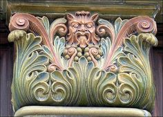 The Green Man in Stoke-on-Trent