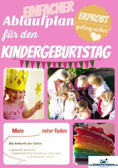 Auf dieser Seite beschreibe ich den Kindergeburtstag Ablauf für eine rundum schöne Kinderfeier. So behältst du jederzeit den Überblick und kannst die Feier auch selber genießen! #kindergeburtstag #kindergeburtstag ablauf #kindergeburtstag spiele