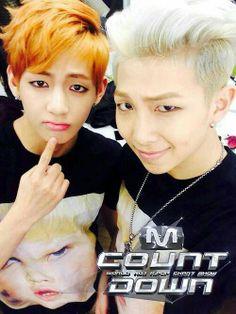 Taehyung and Rapmon