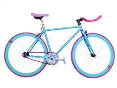 Wizard Industry Fixie Helliot Soho 5313 - Bicicleta, multicolor