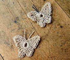 mariposas tejidas al crochet - Buscar con Google