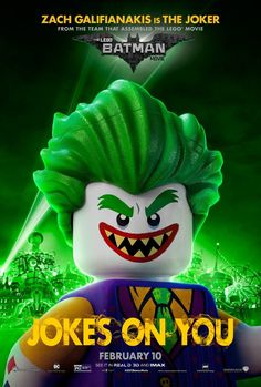 LEGO Batman The movie. 1 hari yang lalu - WATCH NOW ◇ smarturl.BatmanLego ◇ The Lego Batman movie. 012441 The Lego Batman movie.- 012441 The Lego . Lego Dc, Lego Batman Movie, Lego Film, Joker Poster, Le Joker Batman, Joker And Harley Quinn, Batman Art, Batman Jokes, Lego Jokes
