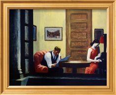 Zimmer in NewYork Poster von Edward Hopper - AllPosters.at