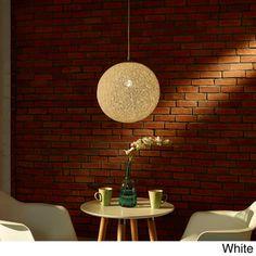 Modern Spool 1-light Pendant Light   Overstock.com Shopping - Great Deals on Modway Chandeliers & Pendants, $118.99