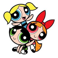Miss me some saturday morning cartoons- girl power. POWER PUFF girls