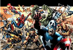 Wolverine star Hugh Jackman has a plan to get the X-Men, Spider-Man and The Avengers all on the same screen. Ms Marvel, Marvel Vs Dc Comics, Marvel Heroes, Marvel Cartoons, Marvel News, Disney Marvel, The Avengers, Marvel Avengers Movies, Marvel Characters