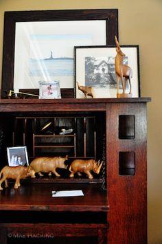 Angie's heirloom secretary desk