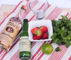 Strawberry Moscow Mule