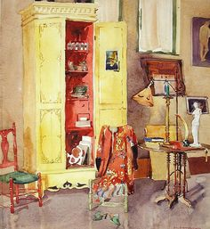 Dorothy Eisenbach Interior of a Studio 1927