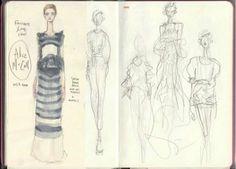 Pippa McManus Illustration on Fashionary sketchbook!