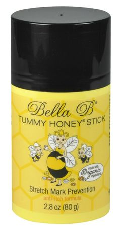 Tummy Honey Stick | Pregnancy Skin Care & Stretch Mark Prevention available at www.duematernity.com