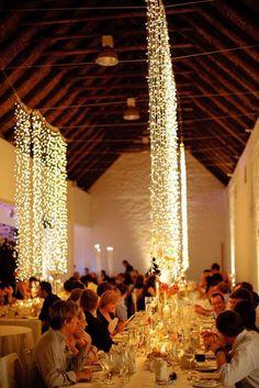 Ideas para iluminar una boda campestres. #BodasCampestres