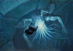 ArtStation - In Sunken R'lyeh Dead Cthulhu Lies Dreaming, Armand Cabrera