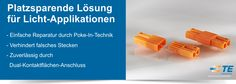 SHC GmbH - Platzsparende Lösung für Licht-Appliaktionen von TE