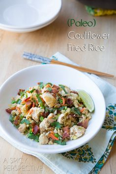 (Paleo) Cauliflower Fried Rice